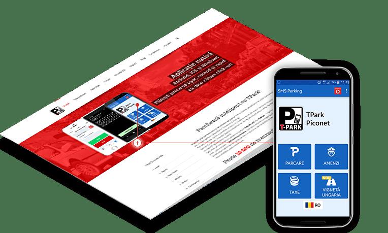 TPark plata parcari disponibila gratuit pentru device-uri mobile