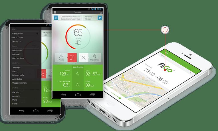 fliGO monitorizare prin GPS a flotelor auto