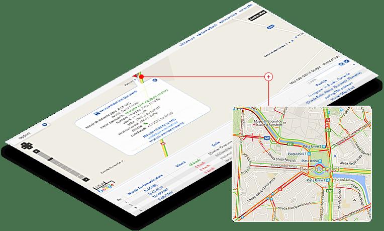 monitorizare flota auto rutare trasee
