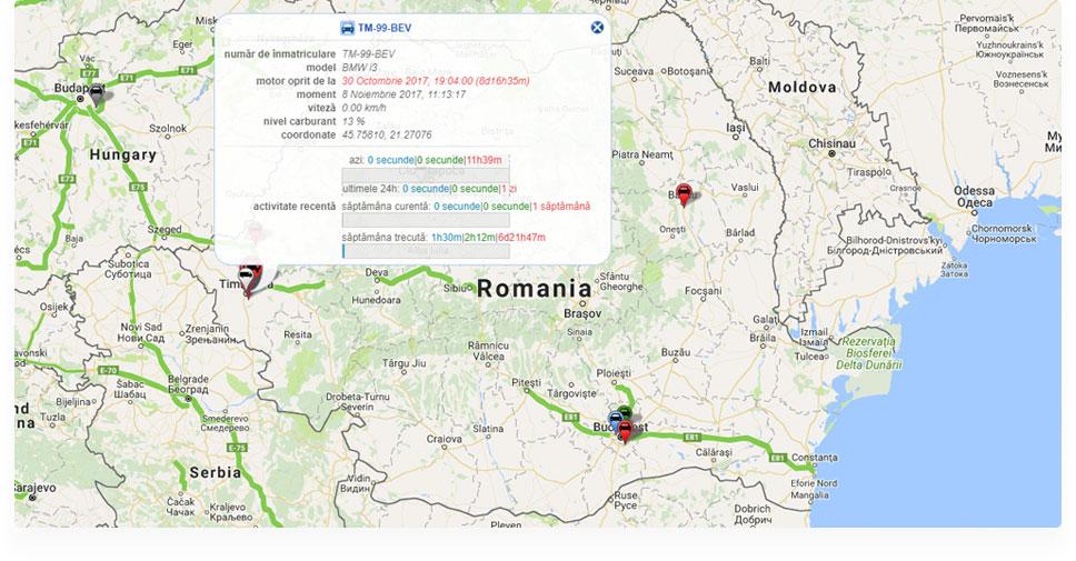 aplicatie - localizare si monitorizare auto prin GPS