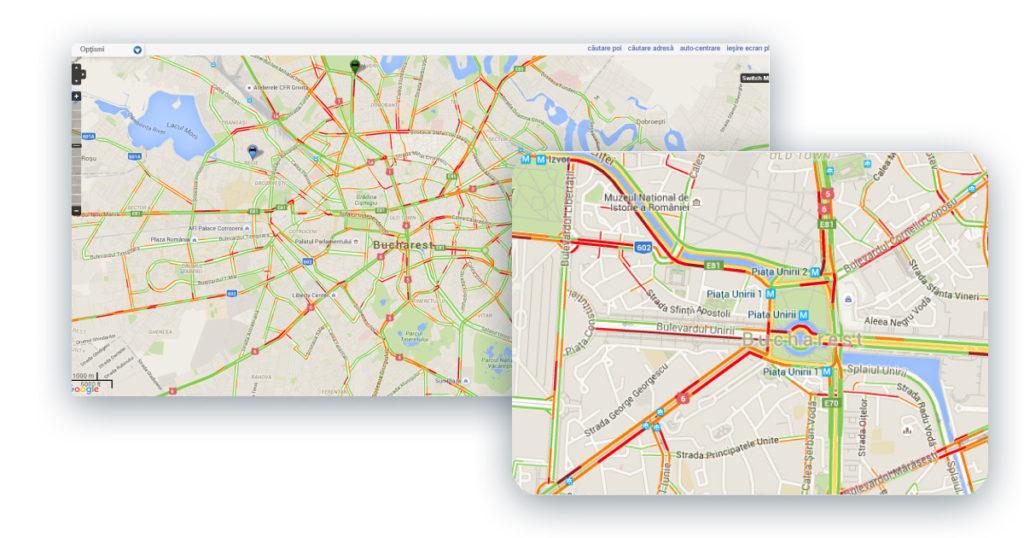 GPS monitorizare si localizare flota autovehicule