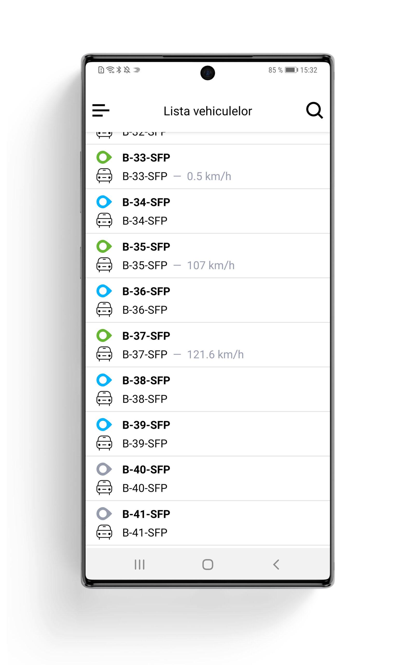 aplicatie monbila fliGo – monitorizare prin GPS flota auto